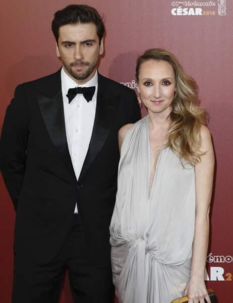 Audrey Lamy et Thomas Sabatier
