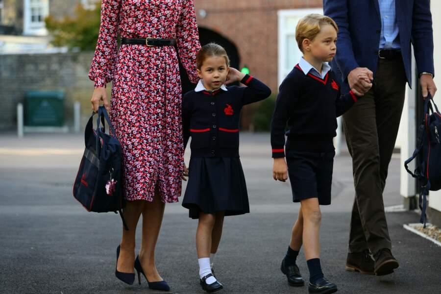 La princesse Charlotte fait sa rentrée