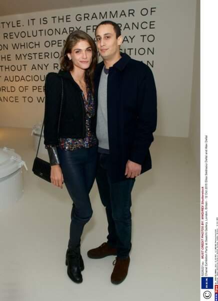 Elisa Sednaoui Dellal et son mari Alex Dellal