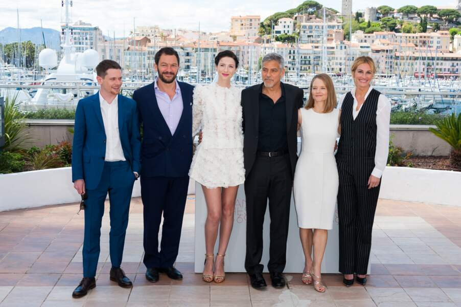 Money Monster : Jack O'Connell, Dominic West, Caitriona Balfe, George Clooney, Jodie Foster & Julia Roberts