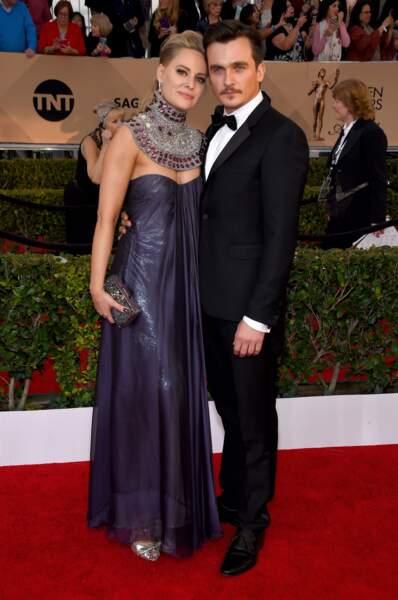 Rupert Friend et Aimee Mullins