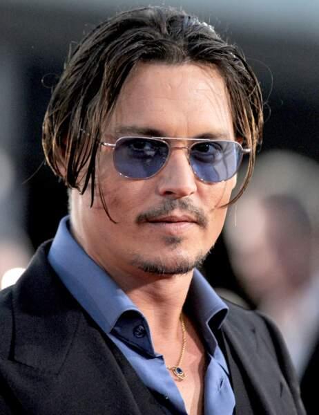 Johnny Depp en juin 2009