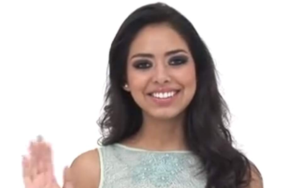 Miss Bolivie Maria Alejandra Castillo, 20 ans, 1m78