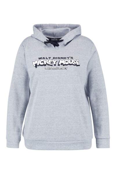 Sweat Mickey Mouse, Boohoo, actuellement à 18€