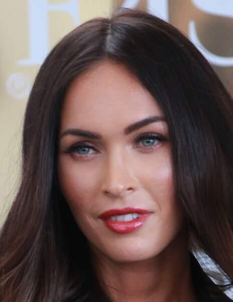 Avant / Après chirurgie esthétique, c'est réussi : Megan Fox après