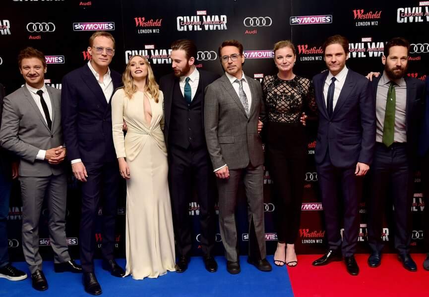 Avant-première de Captain America: Civil War - Grosse production = grosse distribution !