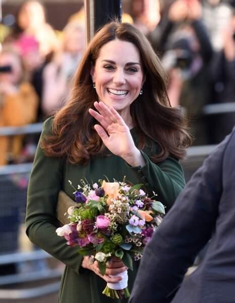 Kate Middleton : sublime dans sa robe verte, elle met tout le monde d'accord