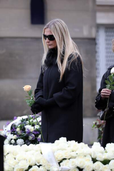 Obsèques de Michèle Morgan - Sarah Marshall