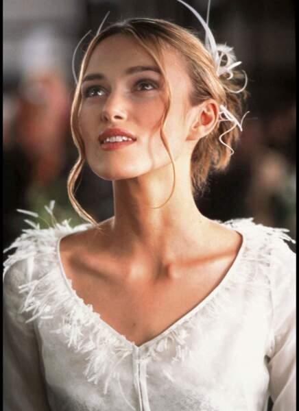Keira Knightley jouait la mariée étonnée par l'orchestre surprise