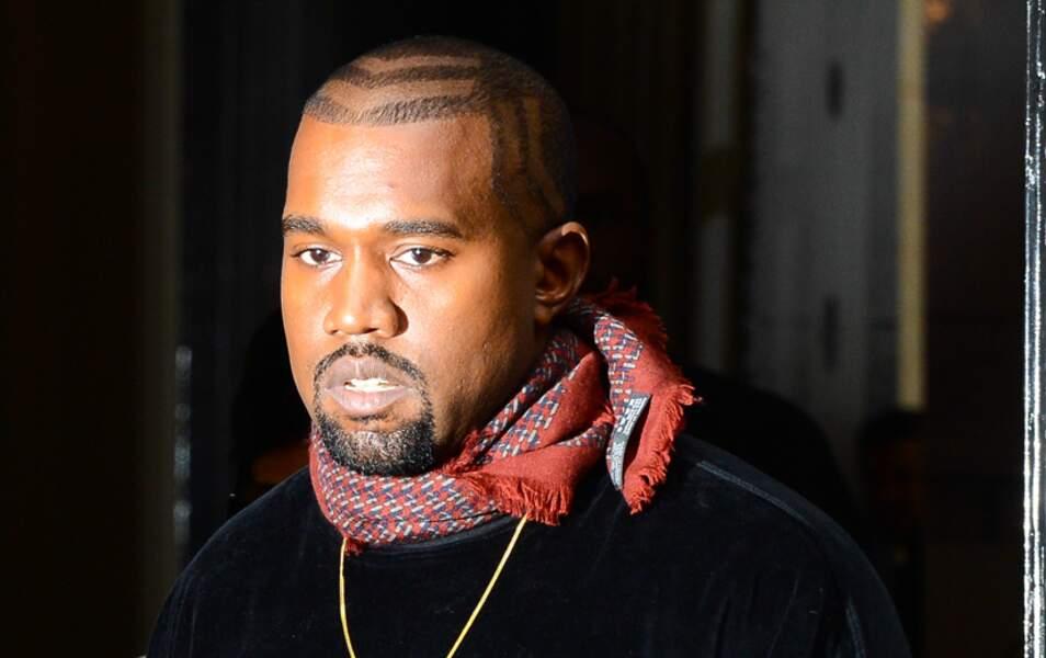 L'homme de la bande : Kanye West. Bravo !