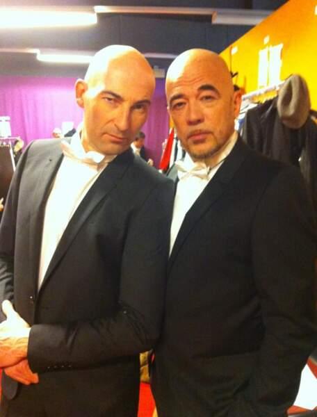 Nicolas Canteloup et Pascal Obispo