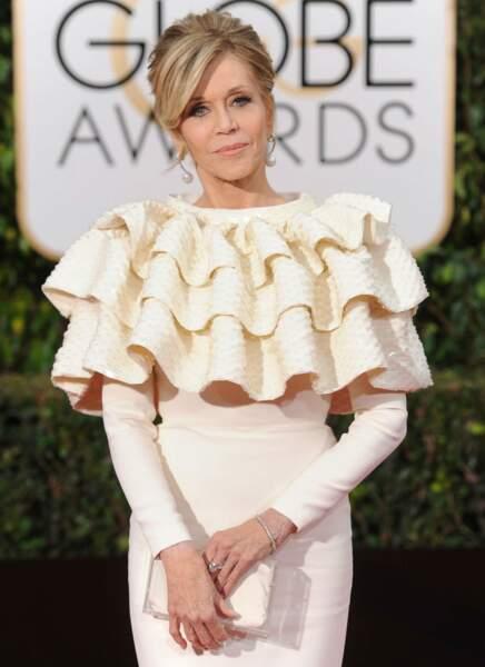"""Jane Fonda """"Elle a l'air d'une huître à manches longues."""""""