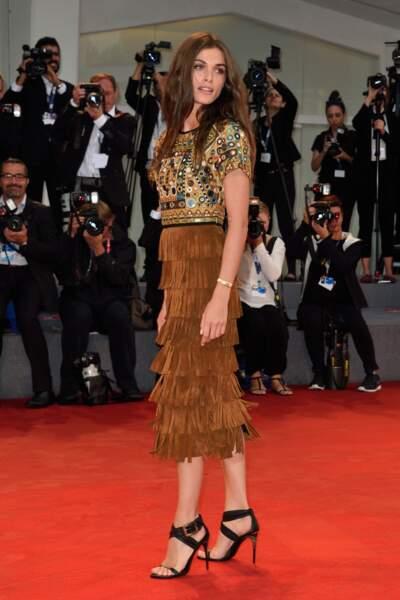 Elisa Sednaoui à l'avant première de The Danish Girl