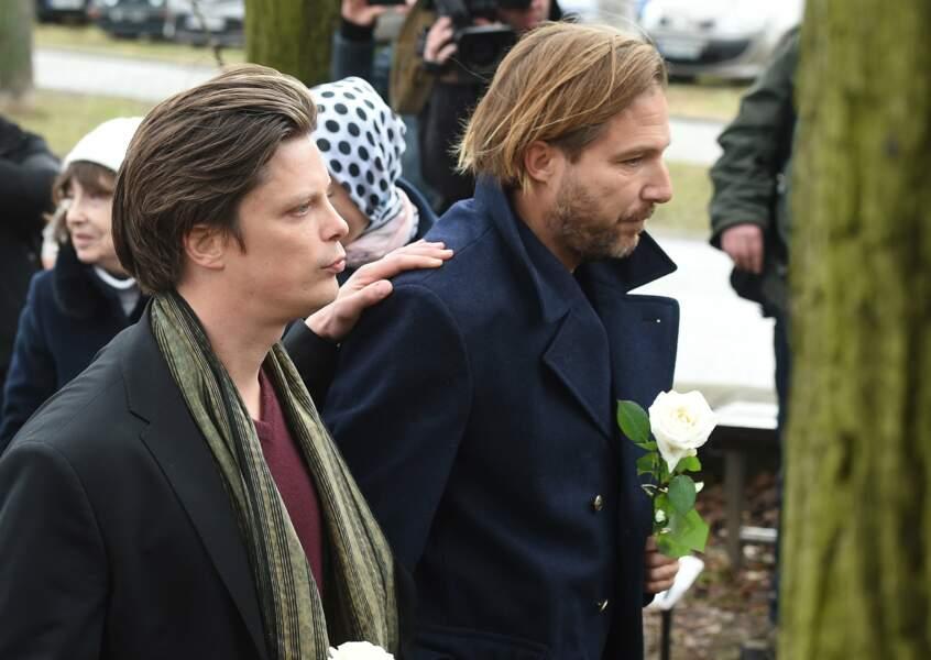 Ignacy et Xavery, deux des trois fils du réalisateur