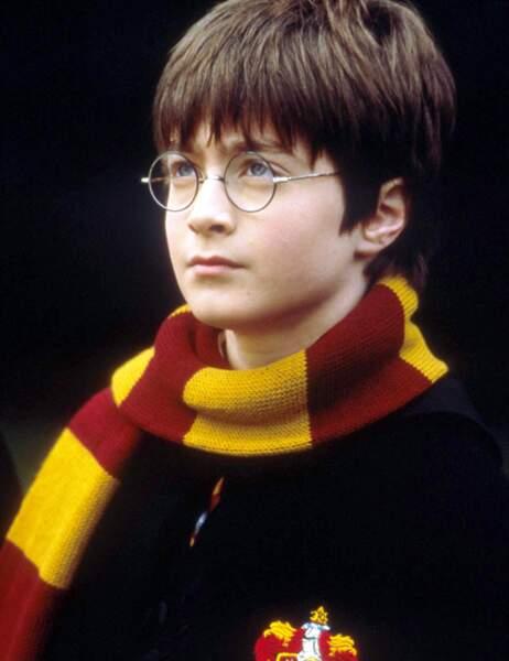 Harry Potter à son arrivée à Poudlard...