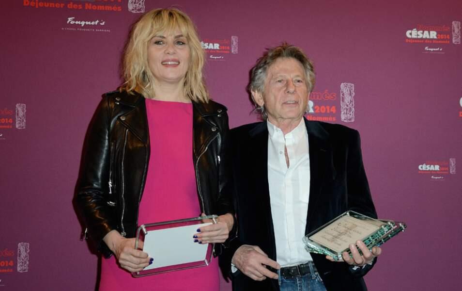 Emmanuelle Saigner et Roman Polanski