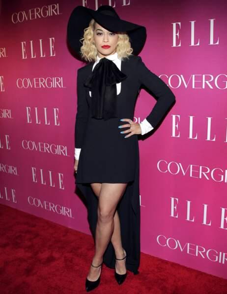 15ème place : Rita Ora