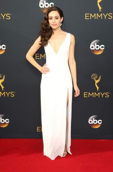 Emmy Awards 2016 : Emmy Rossum en Wes Gordon