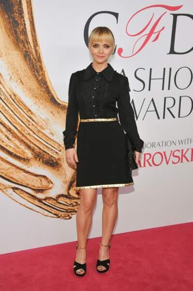 CFDA Fashion Awards : Christina Ricci