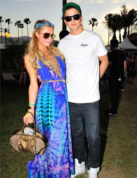 Paris Hilton et Riper Viperii en tenue d'apparat