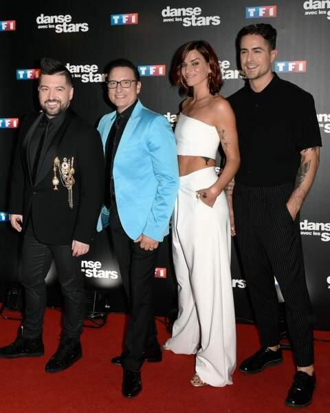 Danse avec les stars 8 - Chris Marques, Jean-Marc Généreux, Fauve Hautot et le petit nouveau Nicolas Archambault
