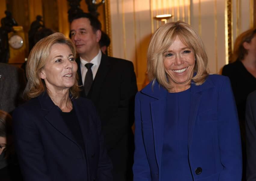 Brigitte Macron et Claire Chazal, ministère de la Culture