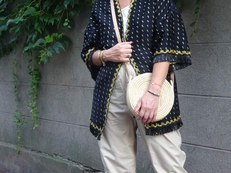 Porter le kimono : pour un week-end au vert