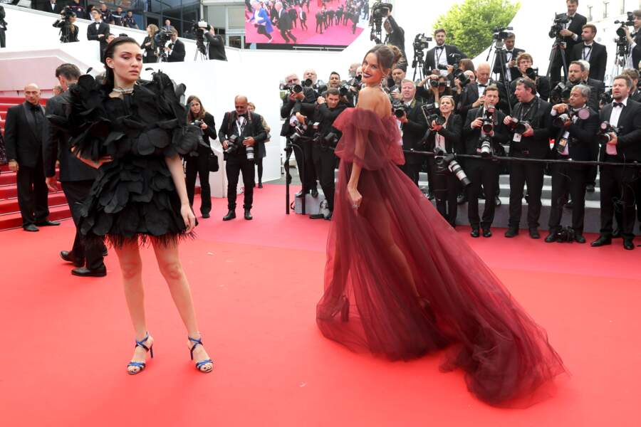 Izabel Goulart au Festival de Cannes 2019