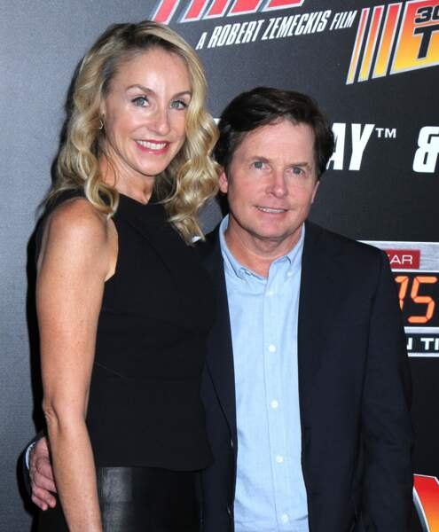 Michael J. Fox et son épouse Tracy Pollan
