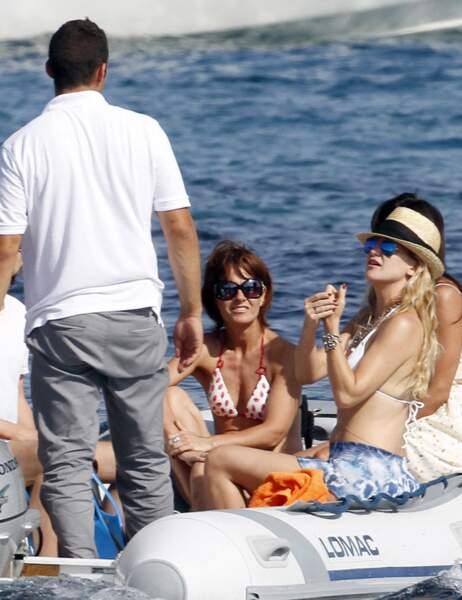 Kate Hudson, Matthew Bellamy et leur famille