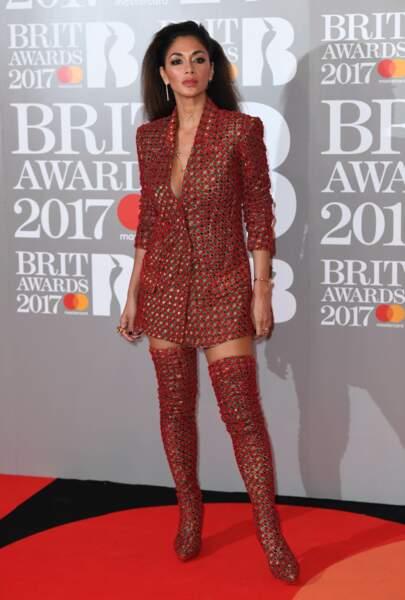 Brit Awards 2017 : Nicole Scherzinger
