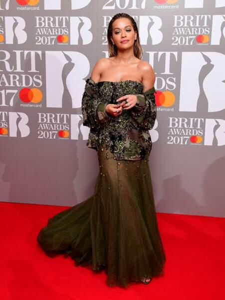 Brit Awards 2017 : Rita Ora