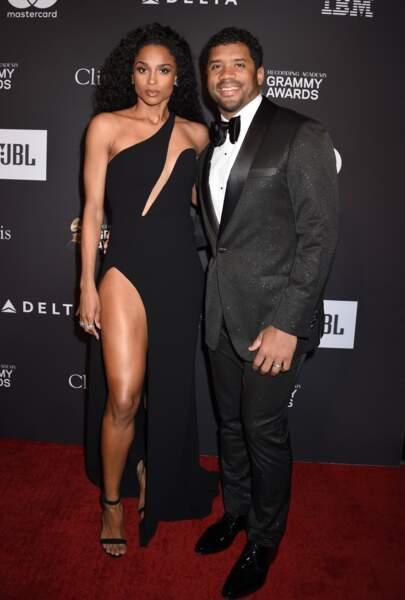 Ciara et son mari Russell Wilson.