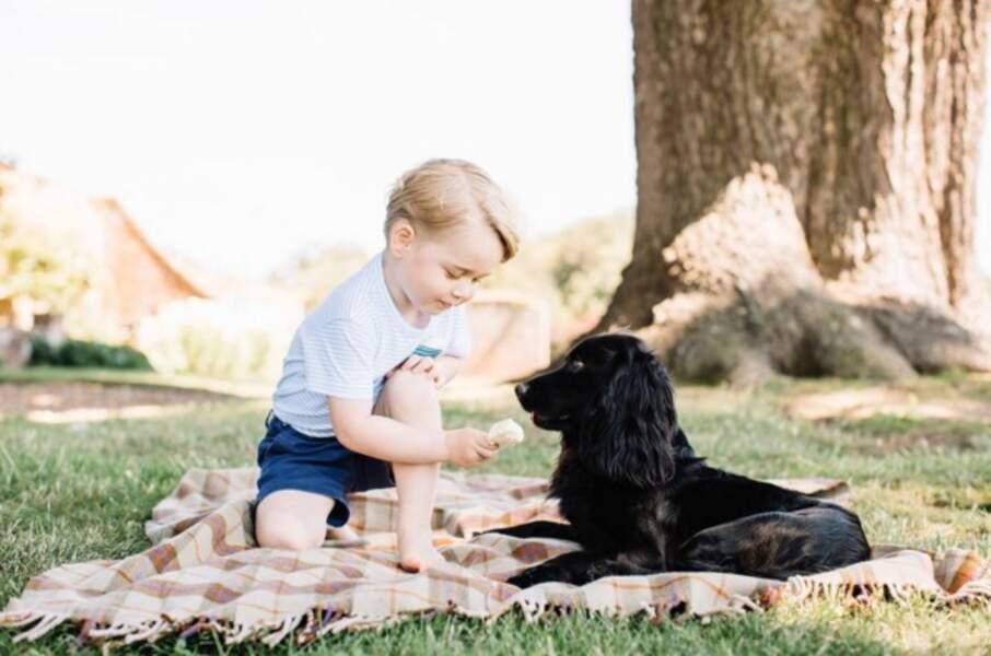 Anniversaire du Prince George - 22 juillet 2016, George fête ses 3 ans