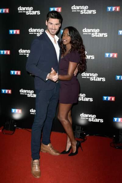 Danse avec les stars 8 - le duo n'a pas l'air encore très, très à l'aise