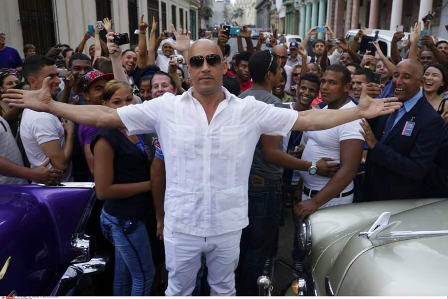 Défilé Chanel à Cuba : Vin Diesel était tellement content d'être là...