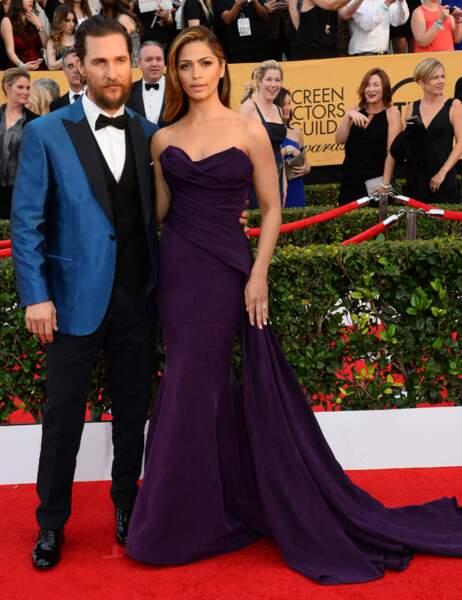 Matthew McConaughey et sa femme Camilla Alvès