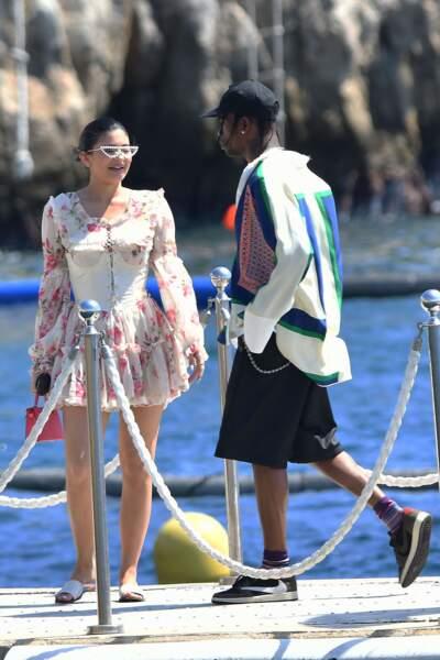 Les deux inséparables, Kylie Jenner et Travis Scott, pendant leurs vacances en France