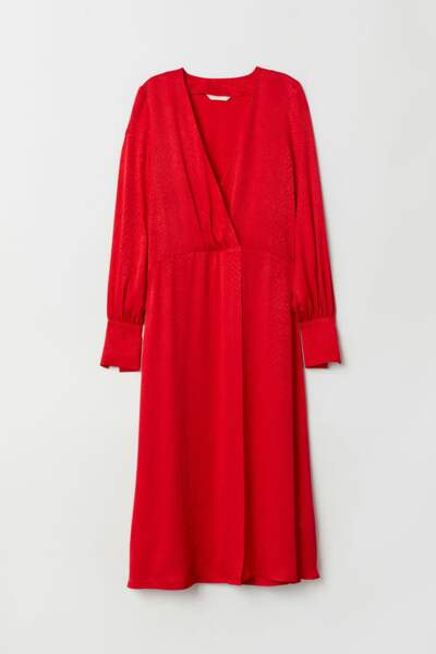 Robe en tissu jacquard, H&M, 19,99€