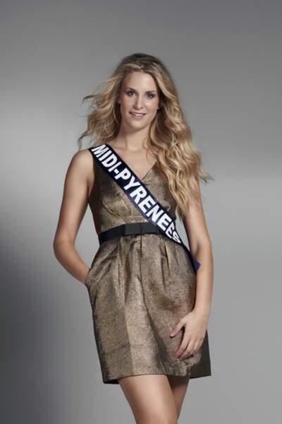 Miss Midi-Pyrénées : Virginie Guillin – 23 ans