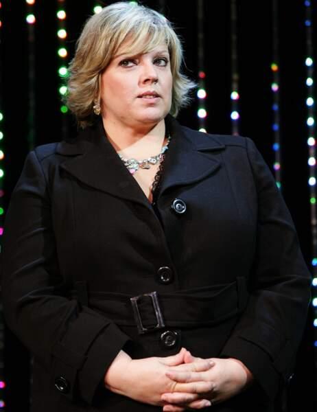 LA PLUS FROIDE, car c'est une femme, est Laurence Boccolini, avec 10% des voix