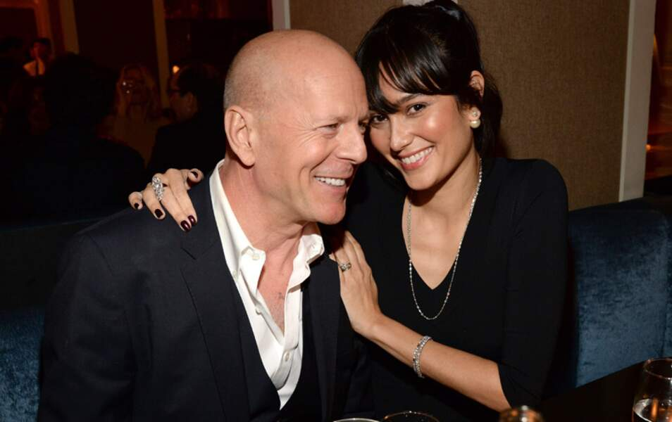 Bruce Willis et sa femme Emma Heming Willis
