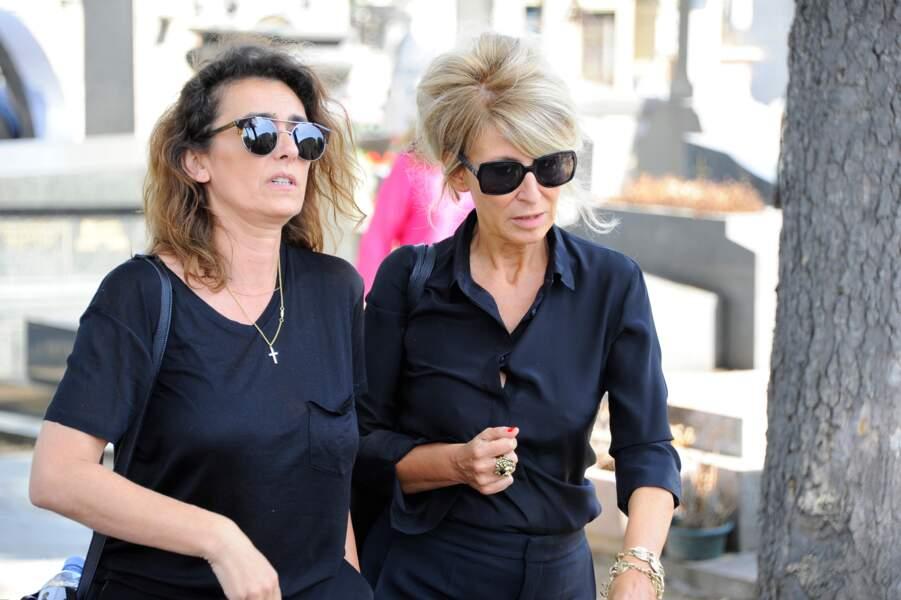 Agnès Boulard et une amie