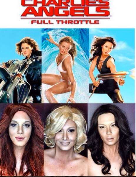 Paolo Ballesteros en Charlie's Angels