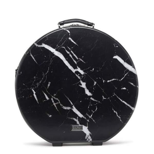Sac rond effet marbre, Nylon Shop, 105€