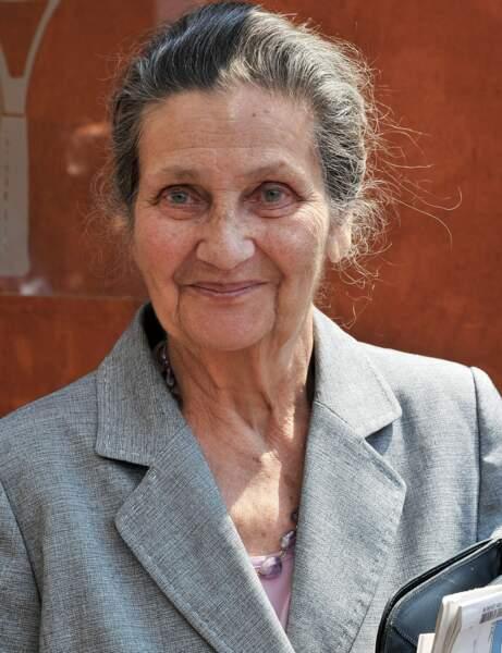 7- Simone Veil est la première femme politique du classement