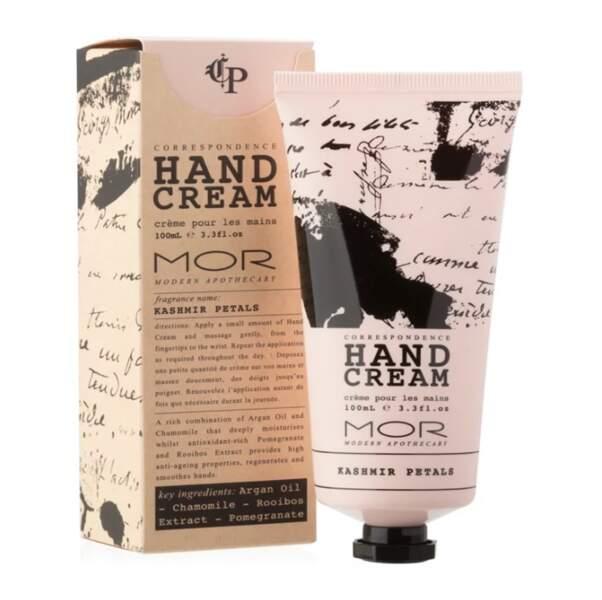 Crème Mains aux Pétales du Cachemire, MOR sur Feelunique.com, 15,50€