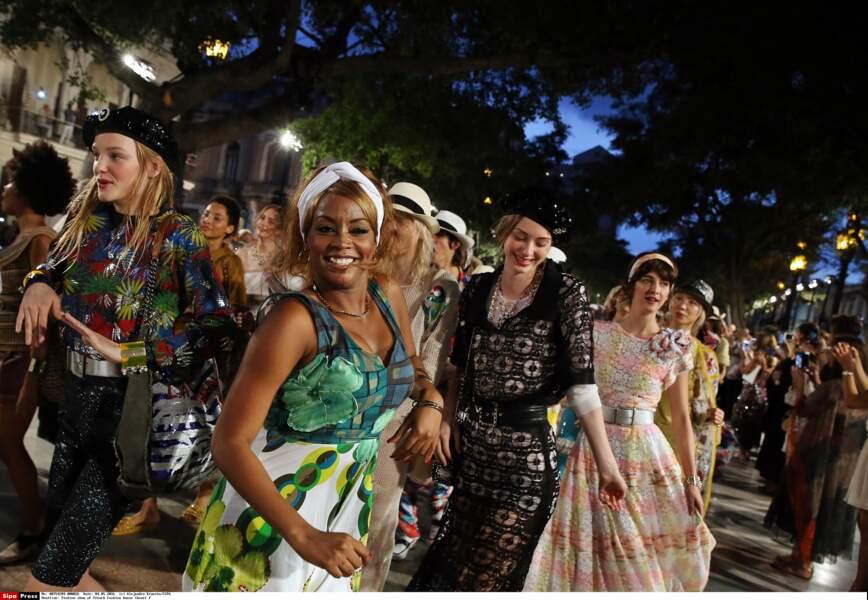 Défilé Chanel à Cuba : la bonne humeur régnait pour ce 1er défilé de mode sud américain de la maison Chanel