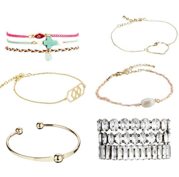 Sélection de bracelets vendus sur ASOS.fr à moins de 11€