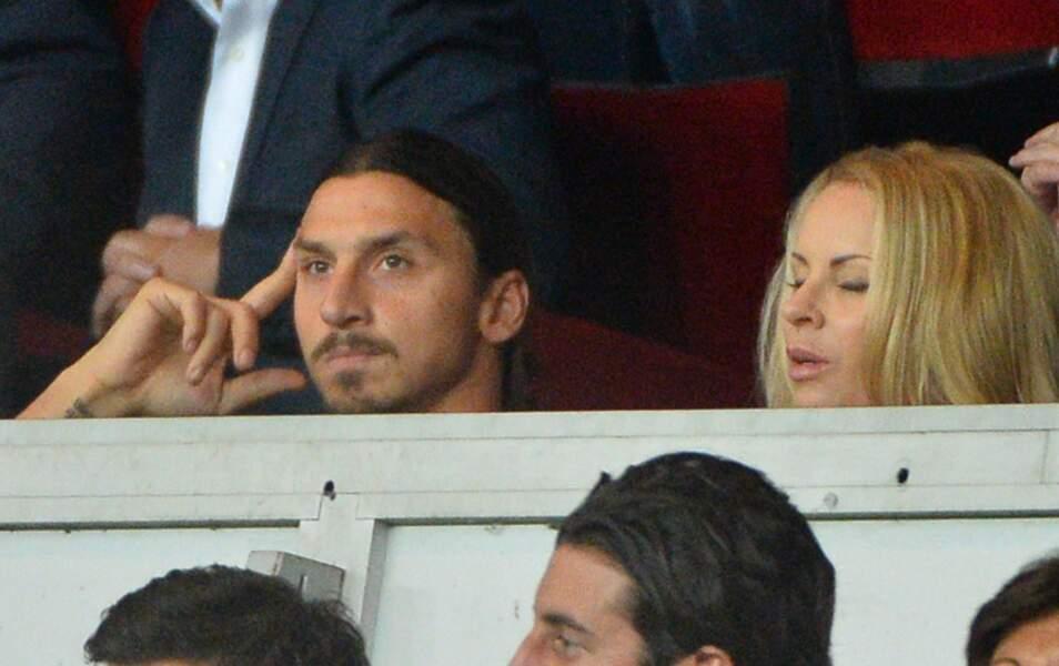 La tête de Zlatan, forfait pour raison médicale, alors que son équipe à gagné !